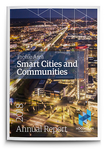 Front page annual report Smart cities and communities with link to pdf