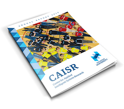An image of the cover of CAISR annual report 2019.
