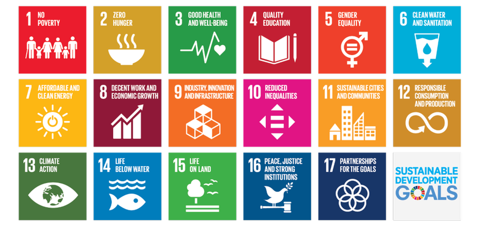 UN's goals for sustainable development.