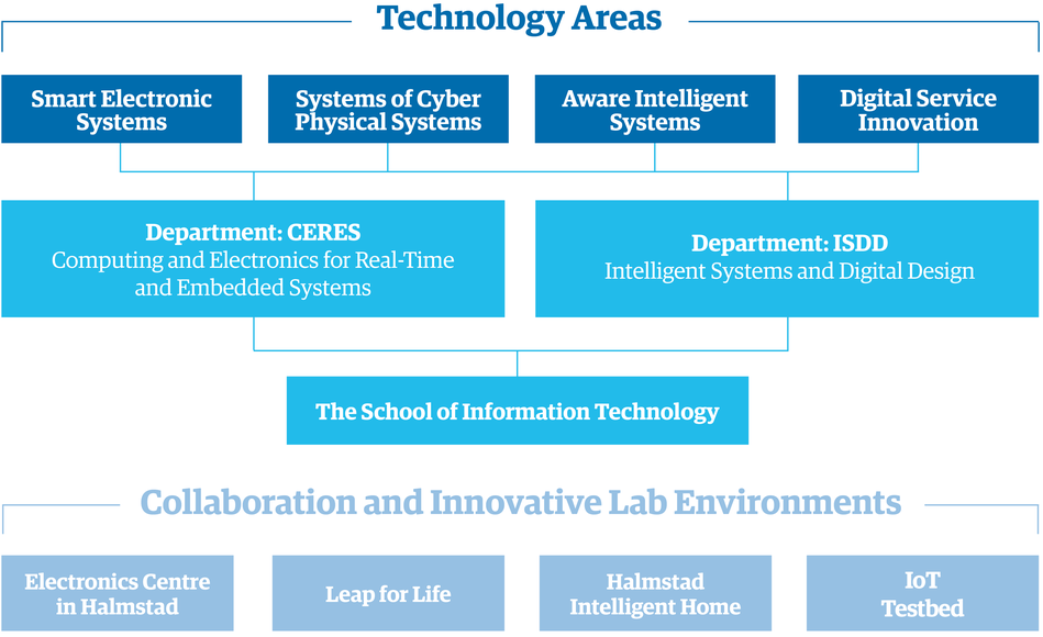 The organisation of the School of Information Technology.